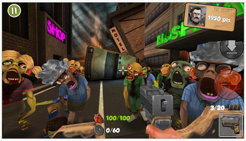 WiKanplay annonce la sortie du jeu Rage against The Zombies