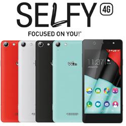 Wiko : un modèle Selfy 4G pour les selfies