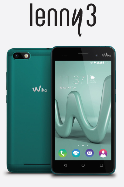 Wiko lance sa nouvelle gamme « Y » : les Sunny, Jerry, Lenny3