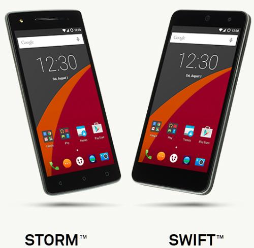 Wileyfox presente deux smartphones sous Cyanogen : Swift et  Storm