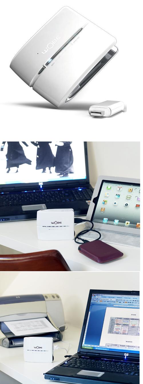 Wobe : une box mobile 3G/Wi-Fi de poche
