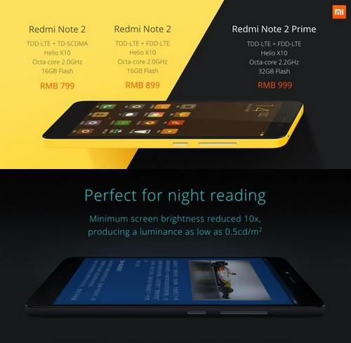 Xiaomi Redmi Note 2 : un smartphone puissant à un prix compétitif