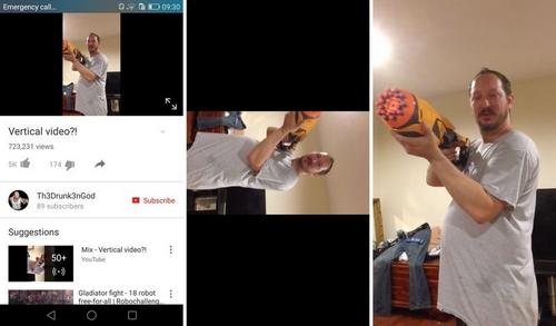 YouTube : nouvelles fonctionnalités et la vidéo verticale en plein écran