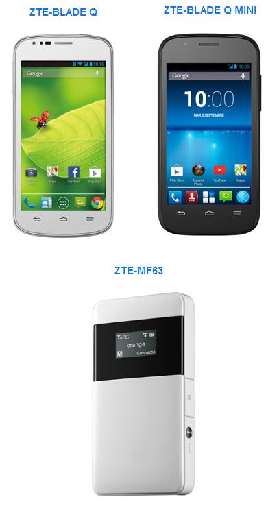 ZTE étoffe sa gamme de smartphones