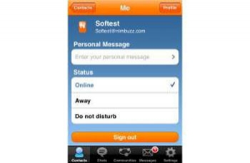 Nimbuzz : un logiciel qui permet d'appeler en VoIP, en utilisant une connexion 3G
