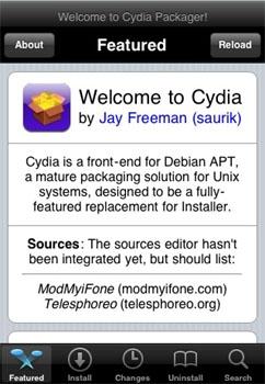Cydia : un AppStore illégal sur l'iPhone