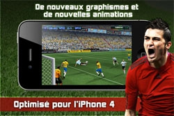 Real Football 2011 d�barque sur l'iPhone
