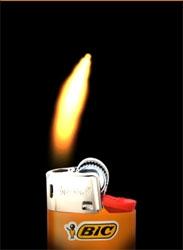 """My BIC lighter : """"Allumez le feu"""""""