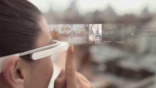 Google Glass le projet futuriste d'un g�ant du Net