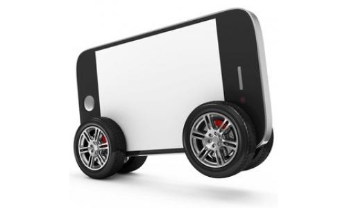 Les smartphones � la rescousse de l�automobile