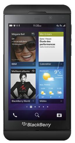 Blackberry z10 toutes les infos sur ce mobile avec for Photo ecran blackberry z10