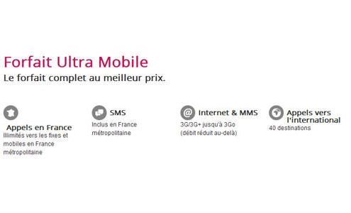 forfait ultra mobile sans engagement par numericable. Black Bedroom Furniture Sets. Home Design Ideas