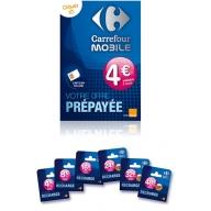 Carrefour Carte Telephonique Prepayee.Recharges Chez Carrefour Mobile