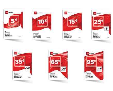 recharger sfr la carte Recharge Recharge SFR 15 € par SFR